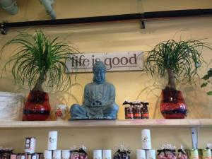 Life is Good Buddha